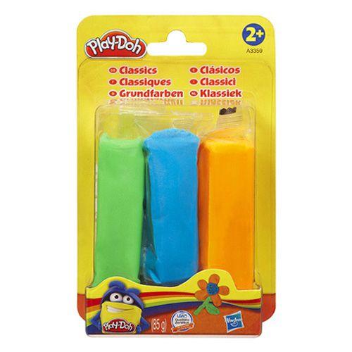 Hasbro Modelína náhradní náplně zelená, modrá, oranžová 85 g cena od 37 Kč