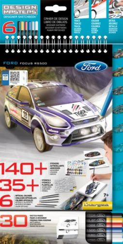 Wooky Ford Focus portfolio + pastelky cena od 95 Kč
