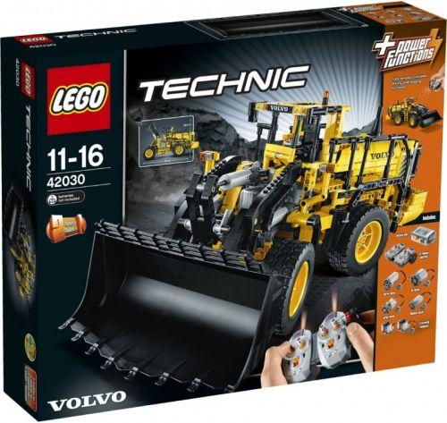 Lego TECHNIC volvo L350 kolový nakladač na dálkové ovládání 42030