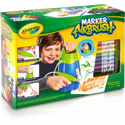 Crayola Marker Airbrush kreslící studio cena od 895 Kč