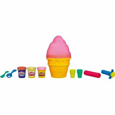 Hasbro Play-Doh modelovací set v kornoutku cena od 0 Kč