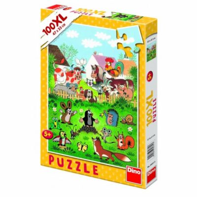 Krtek na statku - Puzzle 100XL