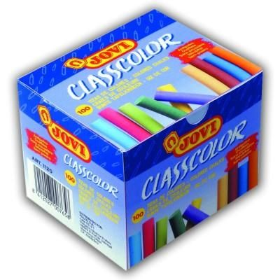Jovi Křídy školní barevné, bezprašné 100 ks