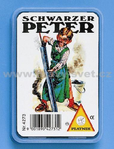 Piatnik: Černý Petr - Děti (plastová krabička)