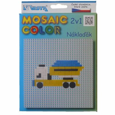 Vista Mosaic Color Náklaďák 2v1 cena od 69 Kč