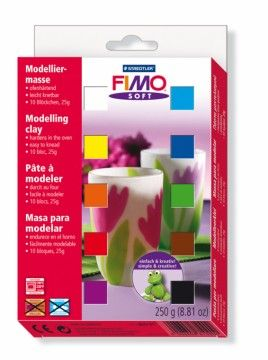 STAEDTLER FIMO soft sada 10 barev cena od 266 Kč