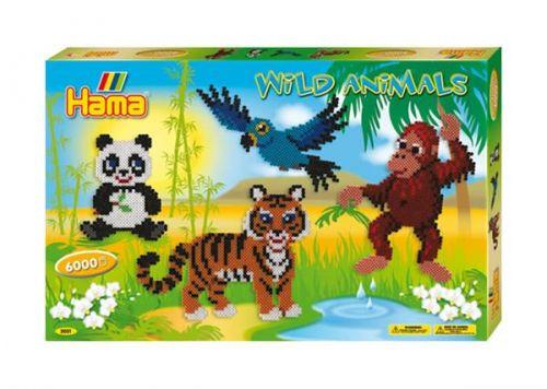 HAMA Velká sada zvířátka cena od 518 Kč