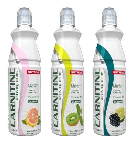 NUTREND CARNITINE ACTIVITY DRINK Eukalyptus-kiwi 700 ml