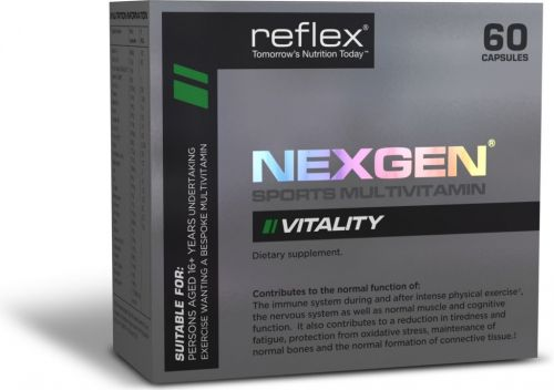 Reflex Nutrition Nexgen 60 kapslí