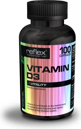 Reflex Nutrition Vitamin D3 100 kapslí