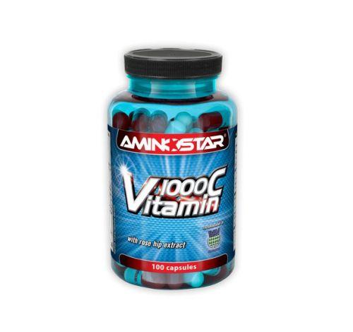 Aminostar Vitamín C 1000 100 kapslí