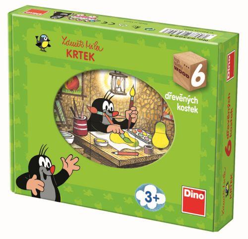 Dino Toys Kubus Krtek a přátelé 6 kostek cena od 149 Kč