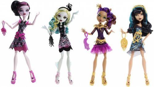 Mattel Monster High Howlywood příšerka cena od 0 Kč