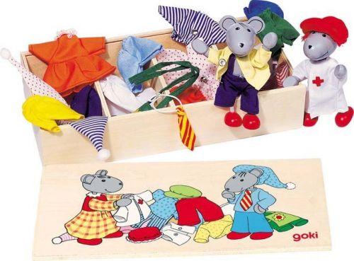 GOKI Panenky do domečku myšky