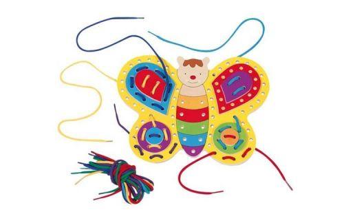 GOKI Provlékací hračka Motýlek