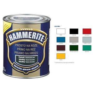 Hammerite Barva přímo na rez hladký žlutý 0,25 l
