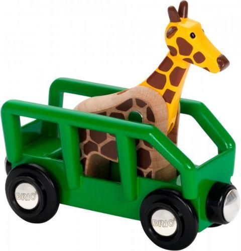 Brio Žirafa ve vagónu cena od 199 Kč