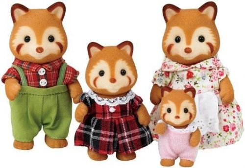 Sylvanian Families Rodinka červené pandy cena od 0 Kč