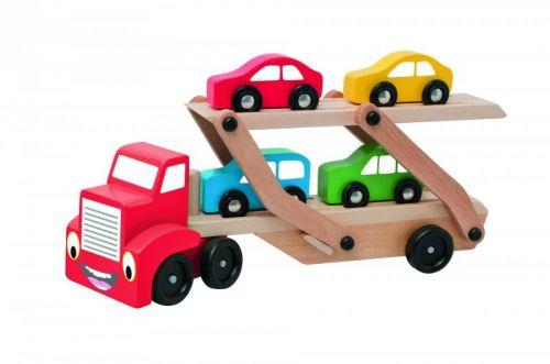 Woody Tahač s návěsem pro přepravu aut cena od 332 Kč
