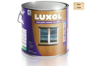 Luxol základní barva na okna bílá 4 L