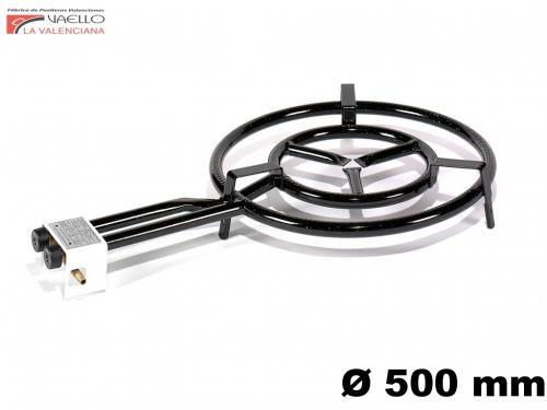 Vaello Campos Paella hořák dvojitý 50 cm