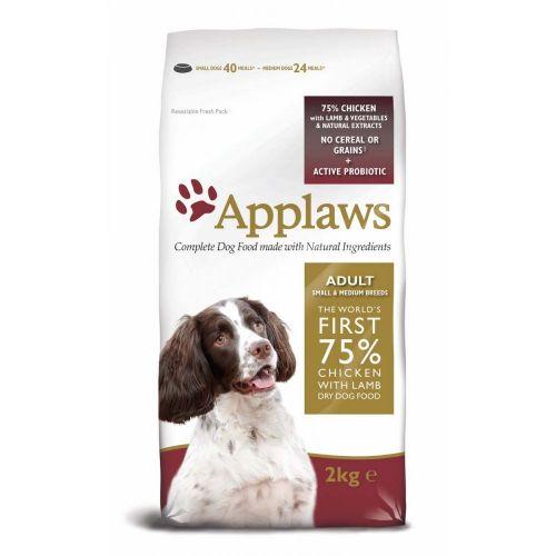 Applaws Dog Adult Small & Medium Breed Chicken & Lamb 2 kg