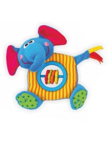 Baby Mix Plyšová hračka s pískátkem Slon cena od 115 Kč
