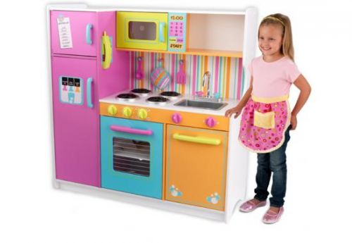 Kidkraft kuchyňka dřevěná DELUXE cena od 5565 Kč