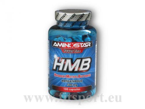 Aminostar HMB 500mg 100 kapslí