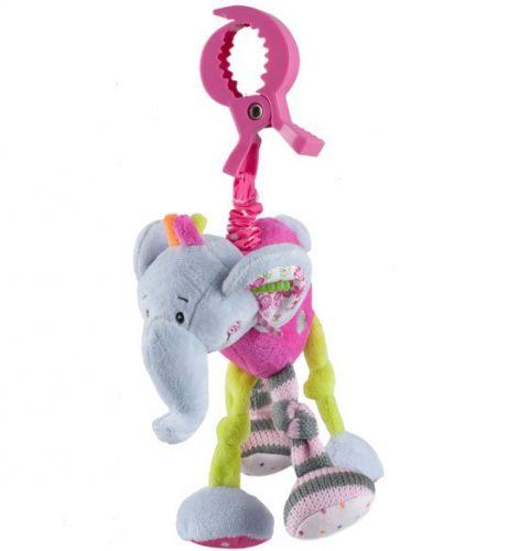 BabyOno vibrující slon s klipem cena od 209 Kč