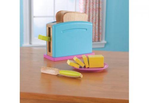 Kidkraft Bright toastový set cena od 899 Kč