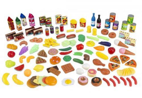 Kidkraft Sada potravin 125 ks cena od 0 Kč