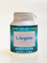 Vito Life L-Arginin 400 mg 100 kapslí