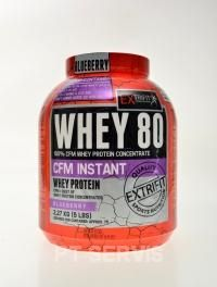 Extrifit CFM instant whey 80 2270 g