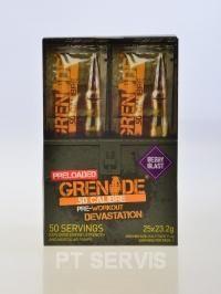 Grenade 50 calibre 25 x 23 g
