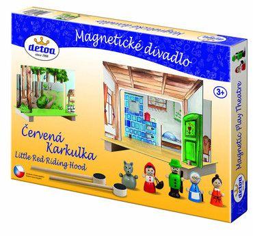 Detoa Magnetické divadlo Červená Karkulka cena od 229 Kč