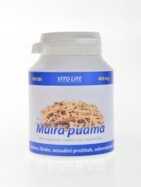 Vito Life Muira Puama 400 mg 100 kapslí