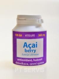 Vito Life Acai Berry 360 mg 100 kapslí