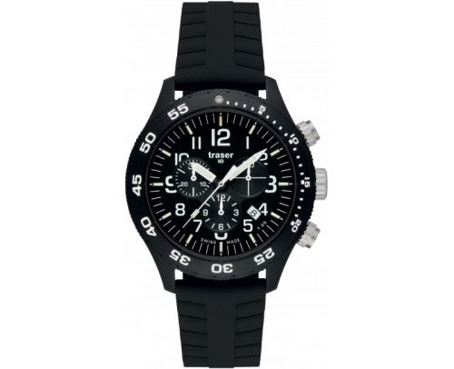 Traser Officer Chronograph Pro Silicone