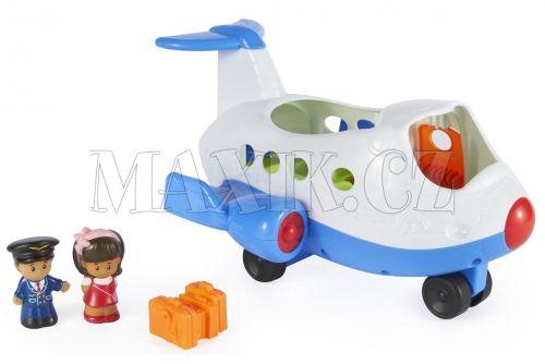 Fisher Price Little People Hrající letadlo cena od 500 Kč