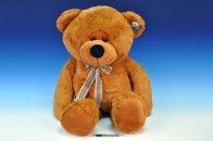 Mikro Trading Medvěd plyš s mašlí 90 cm cena od 899 Kč