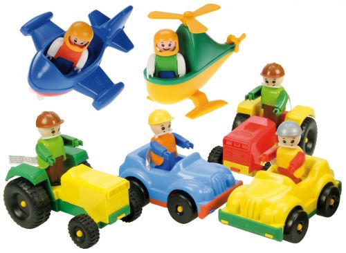 LENA Mini traktor 01557 cena od 59 Kč