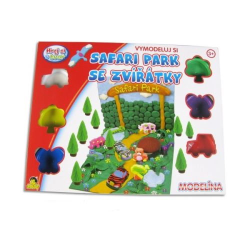 MaDe Modelína safari park 70001 cena od 163 Kč