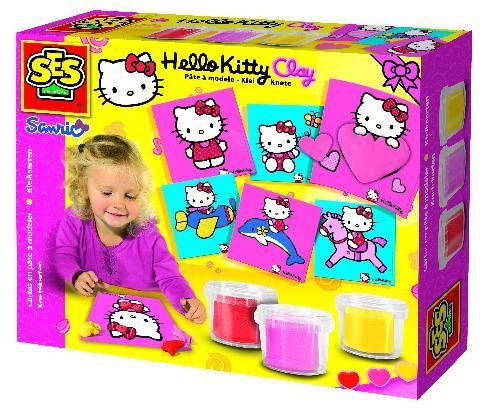 SES Keramická modelína s podložkami Hello Kitty 14408 cena od 279 Kč