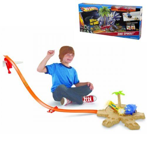 Mattel Hot Wheels DINO SPINOUT X2604 X9280 cena od 0 Kč