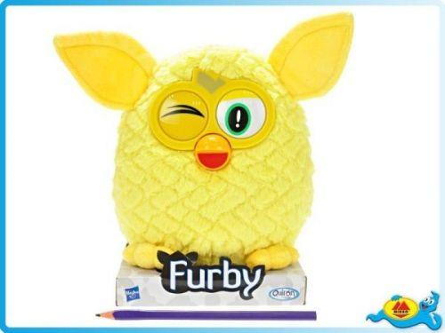 HASBRO Furby žlutý 20 cm cena od 299 Kč