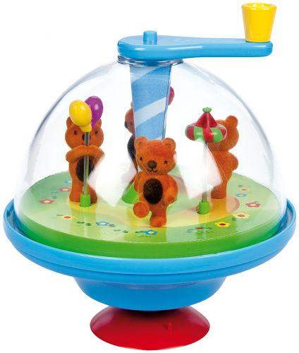 LENA Hrající káča Rondola medvídci 52770 cena od 0 Kč