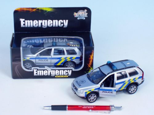 Kids GLOBE Policejní auto Volvo XC-90 65427 cena od 209 Kč