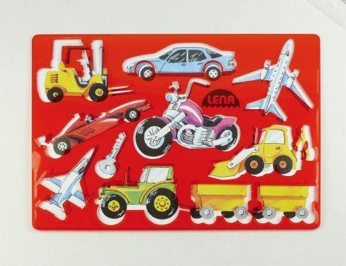 LENA Kreslící šablony dopravní prostředky 65773 cena od 41 Kč