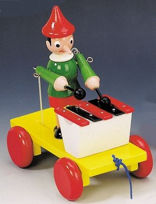 Bino Tahací Pinocchio s xylofonem 80037 cena od 249 Kč